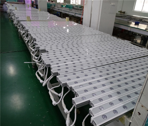 LED wall washer production