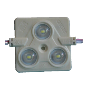 5630 Injection LED Module 3LED Triangle PVC Mask IP67
