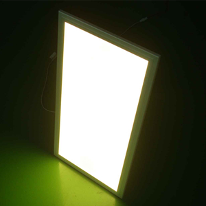 Color changing LED panel light